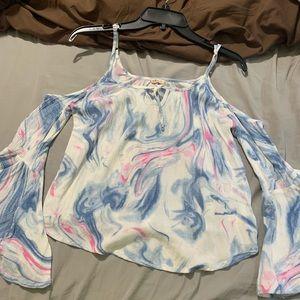 Hollister flair shirt